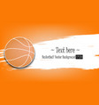 1880 - basketball background vector image