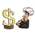 Big profit vector image