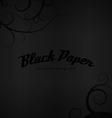 Black Paper vector image