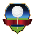 Golf Emblem Badge vector image