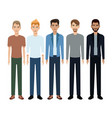 group people man community vector image