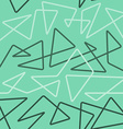 thin line seamless pattern vector image