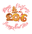2016 gingerbread 380 vector image