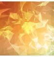 Abstract colorful triangulated geometric vector image vector image