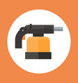 torch icon working hand tool equipment concept vector image