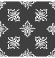 Grey seamless pattern background vector image vector image