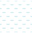 Plate pattern cartoon style vector image