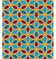Moroccan geometric pattern seamless background vector image