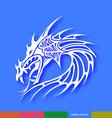 Dragon design vector image