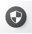 shield icon symbol premium quality isolated vector image