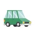 Green car vector image