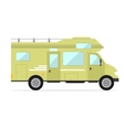 Mobile Home Car vector image