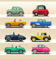 car icon set-6 vector image