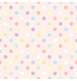 Colorful dots retro vector image