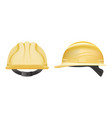 safety helmet construction helmet isolated on a vector image