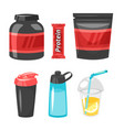 sports professional nutrition vector image