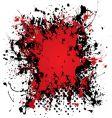 Ink blood splat vector image