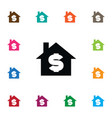 isolated sell icon house element can be vector image