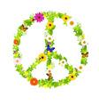 Peace Symbol vector image