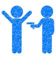 children crime grunge icon vector image