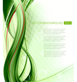 Business elegant abstract green background vector image