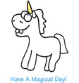 A Magical Day vector image