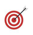bullseye or dart board icon image vector image