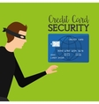 Credit card purchases vector image