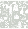 Kids and baby modern mushroom seamless pattern vector image
