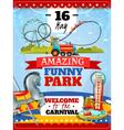 1607i107036Sm005c11amusement park poster vector image