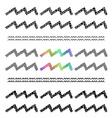 Zodiac Sign Aquarius Set vector image