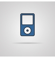 Portable media player icon vector image
