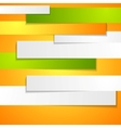 Abstract bright corporate background with paper vector image