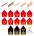 Insignia of the Belgian Royal Army vector image