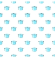 Kitechen pot pattern cartoon style vector image