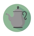 teapot icon design vector image