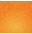 Topographic map tropic orange vector image