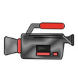 camcorder technolgoy device vector image