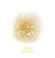 gold texture amber particles color vector image