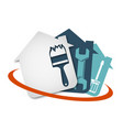 home repair tool vector image