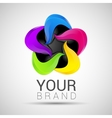 Creative Business colorful logo abstract vector image