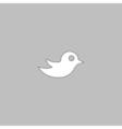 Bird computer symbol vector image