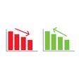business success color vector image