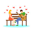 love couple concept vector image