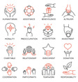 Altruism and benevolence icons - 1 vector image