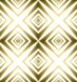 Golden crosses striped festive shining vector