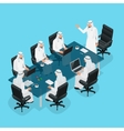 Business meeting concept International Business vector image