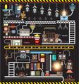 Robot engineering Robot Factory vector image
