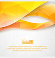 Abstract triangle wave design vector image