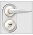 door handle vector image